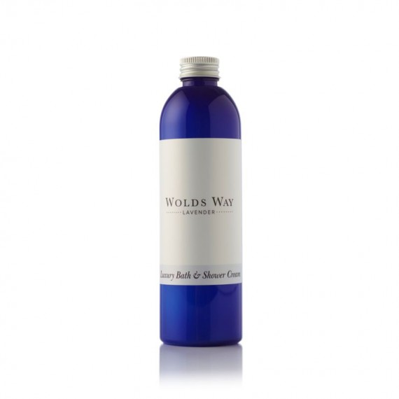 Wolds Way Lavender Luxury Bath and Shower Cream 250ml