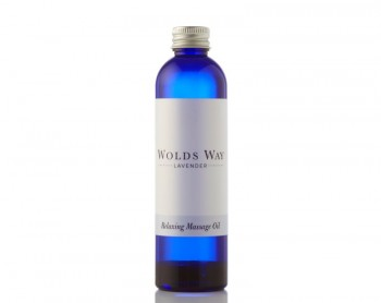 Wolds Way Lavender Relaxing Massage Oil 125ml