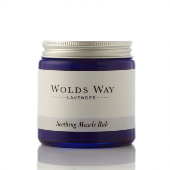 Wolds Way Lavender Soothing Muscle Rub 120ml