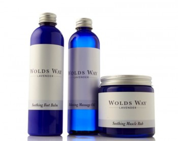 Wolds Way Lavender Soothing and Relaxing Gift Set