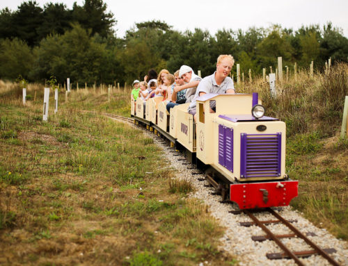"""First run of the season for the """"Lavender Express"""""""